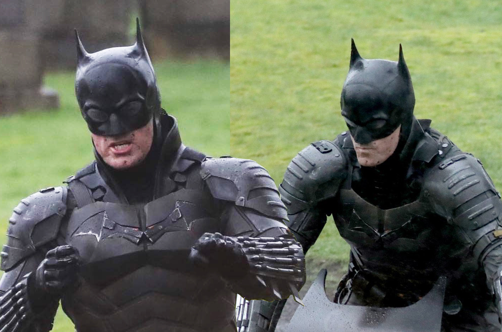 Leaked Set Pictures Give Us A Full Look At Batman's New Batsuit And Batcycle