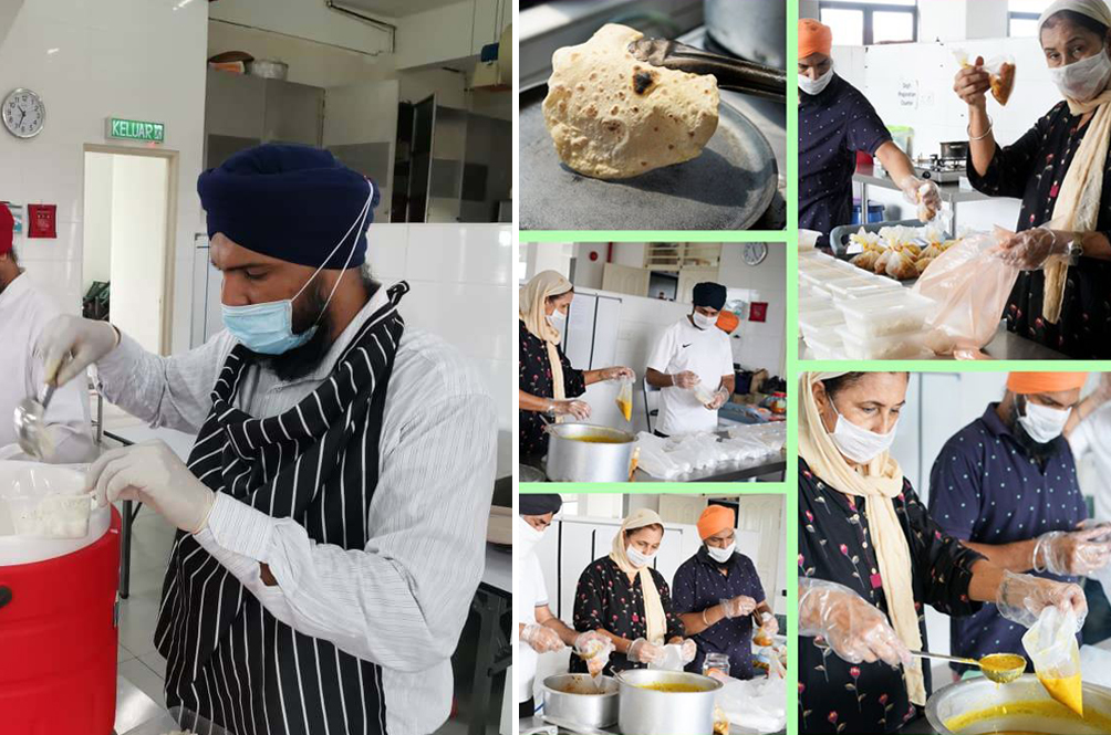 This Local Sikh Gurdwara Prepares Healthy Meals For The Needy During MCO Period
