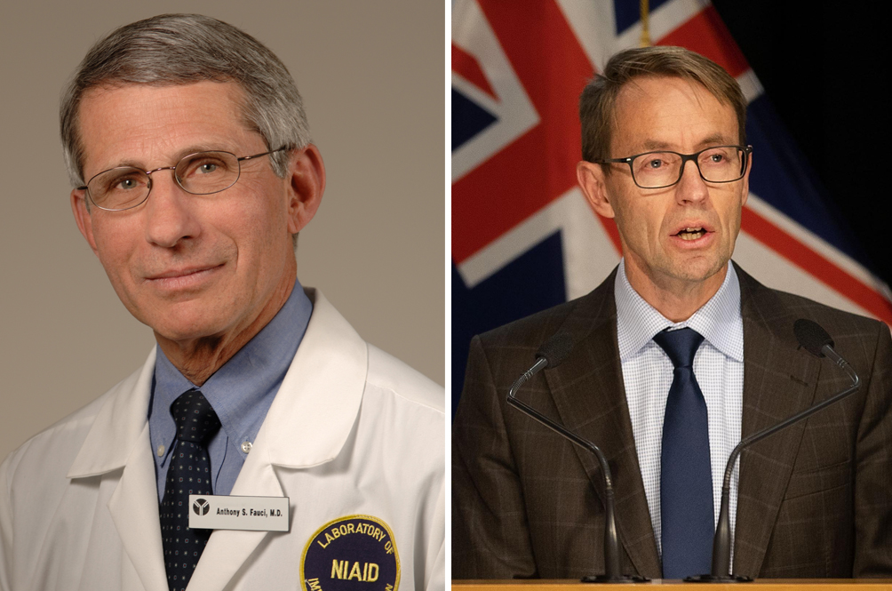 Dr Fauci and Dr Bloomfield are two heroes as well.