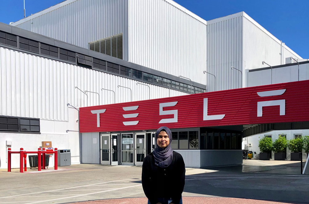 Meet The Malaysian Woman Who Is Working At Tesla As An Engineer