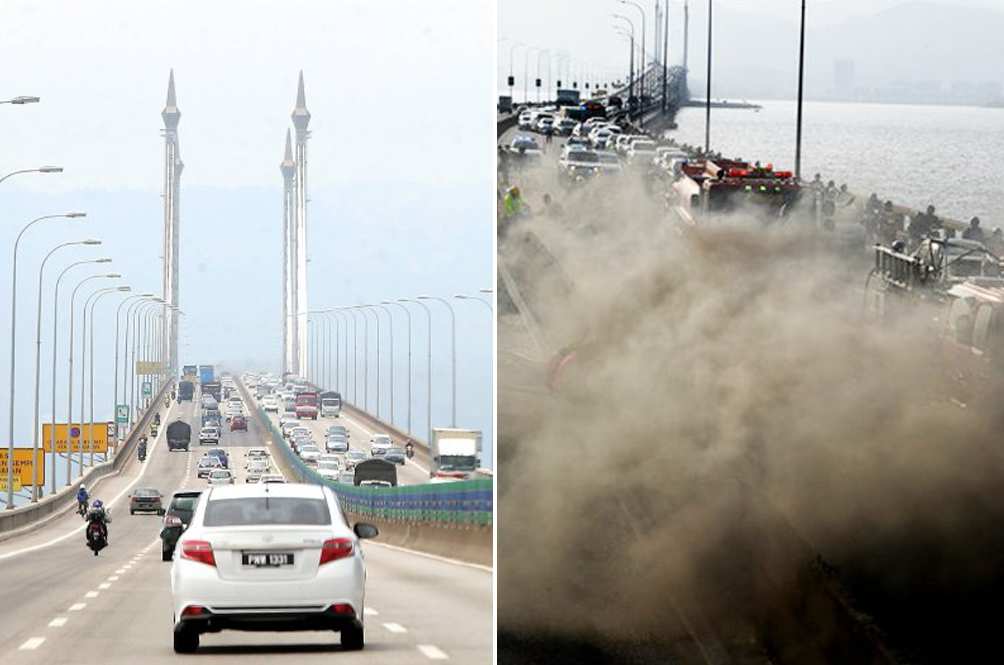 A Couple Of Lanes On The Penang Bridge Might Be Closed For Three Months
