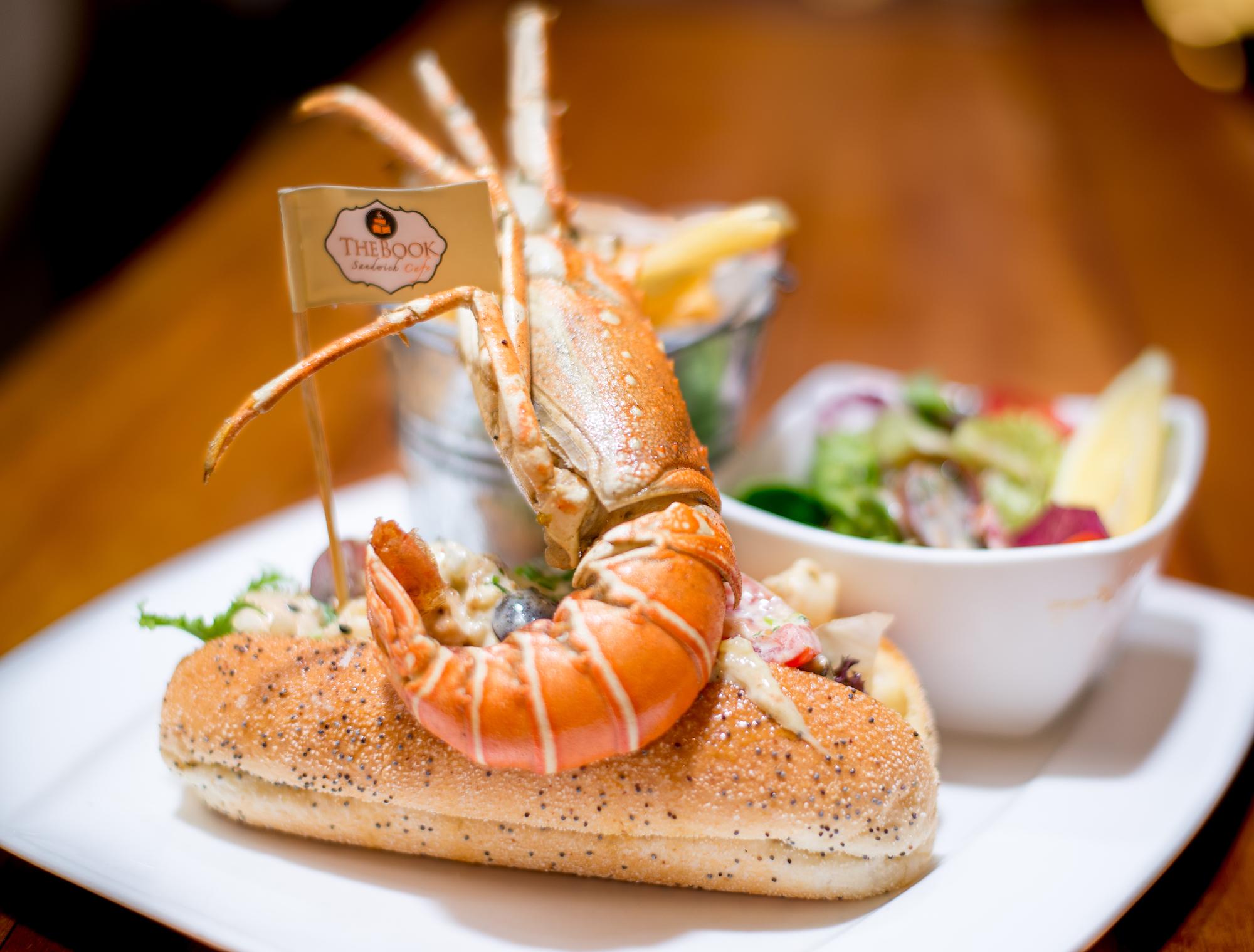 Lobster sandwich.