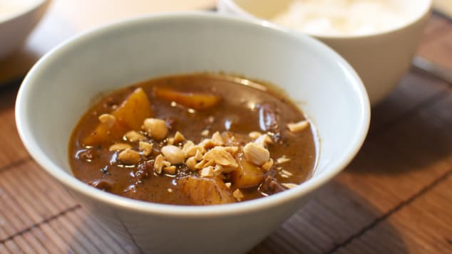 The Massaman curry is the world's best food.