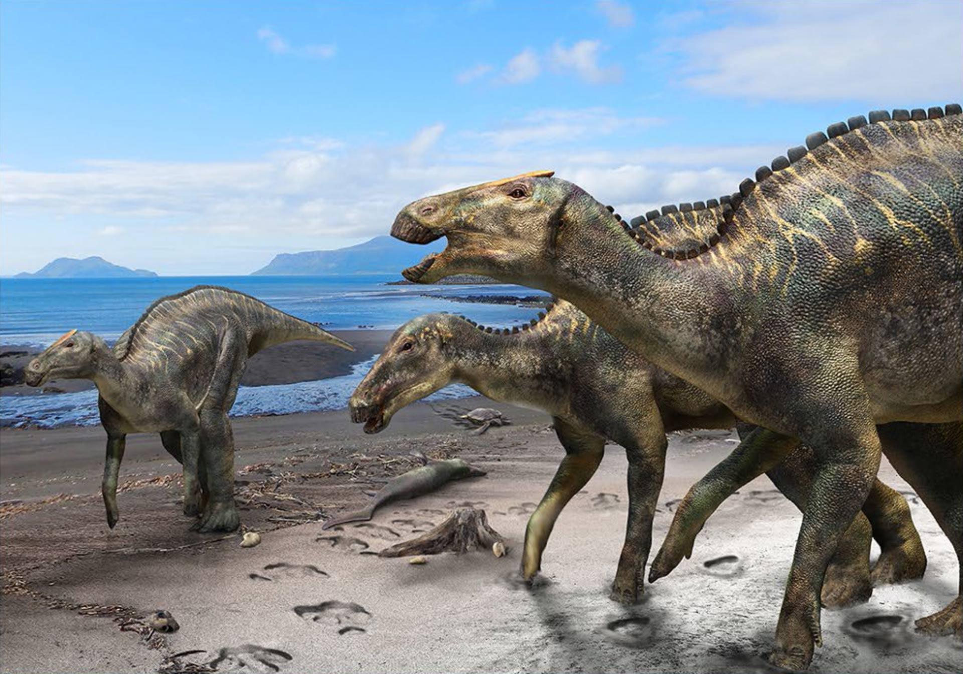 Hello, meet Japan's new dinosaur.