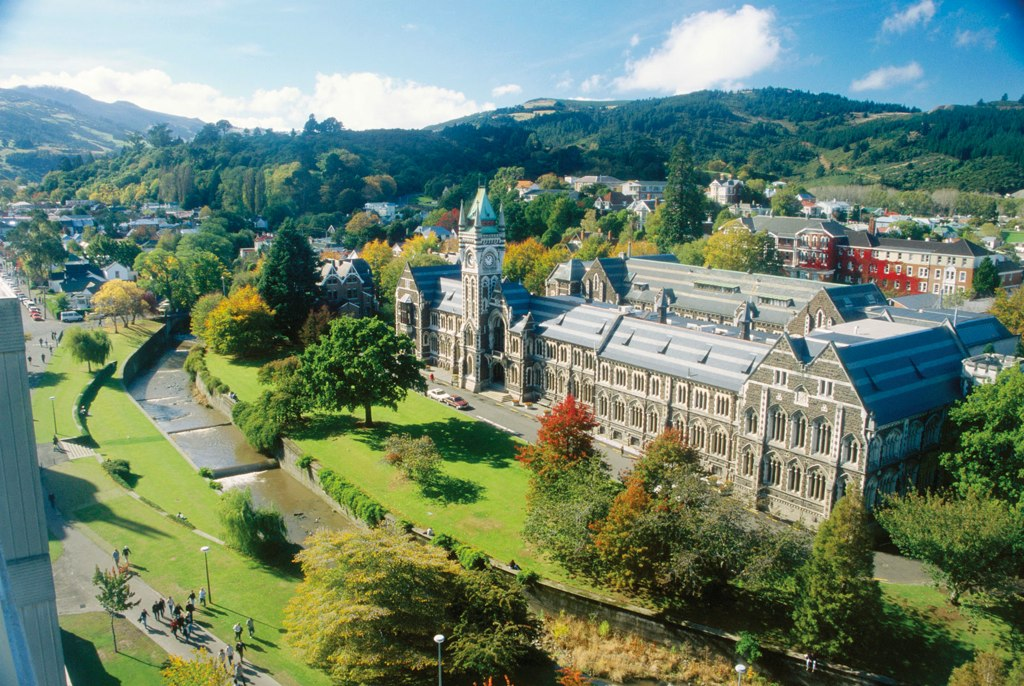 The University of Otago, Prof Mazlan's alma mater.
