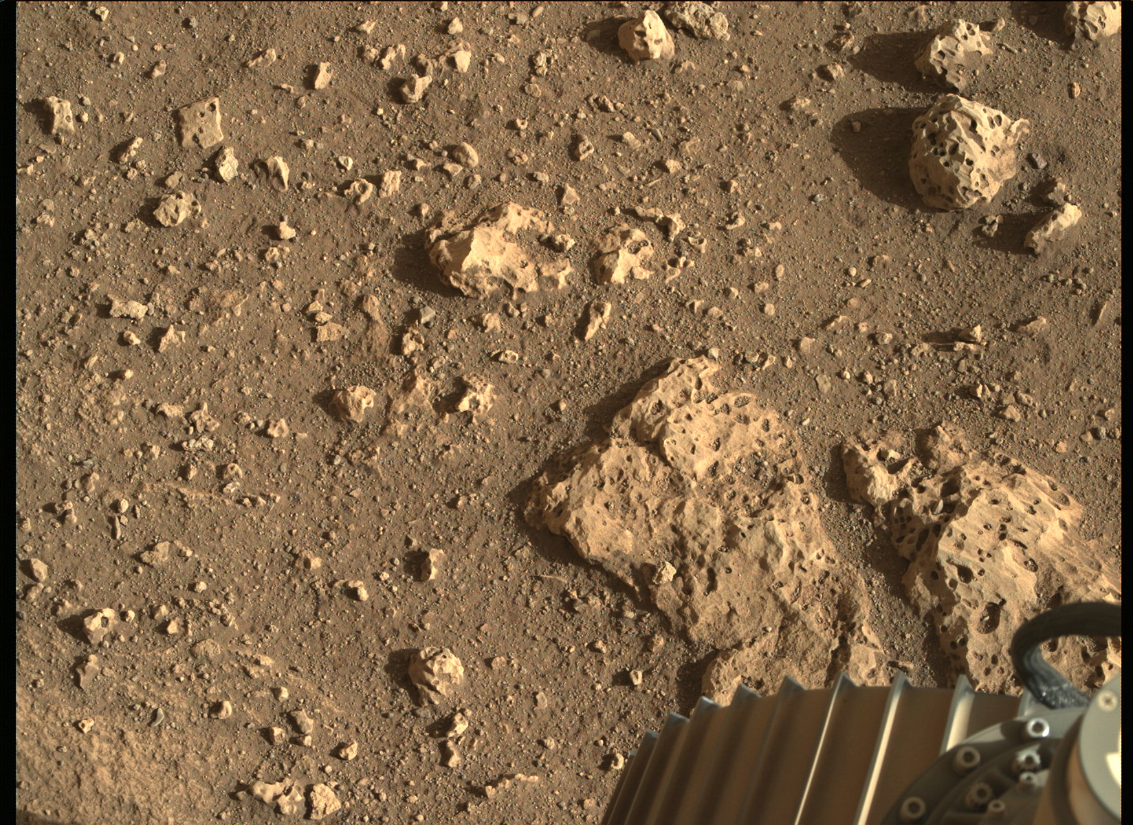 Mars has rocky surfaces too!