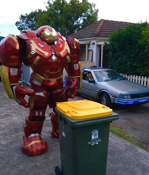 Jarvis, take out the trash please.