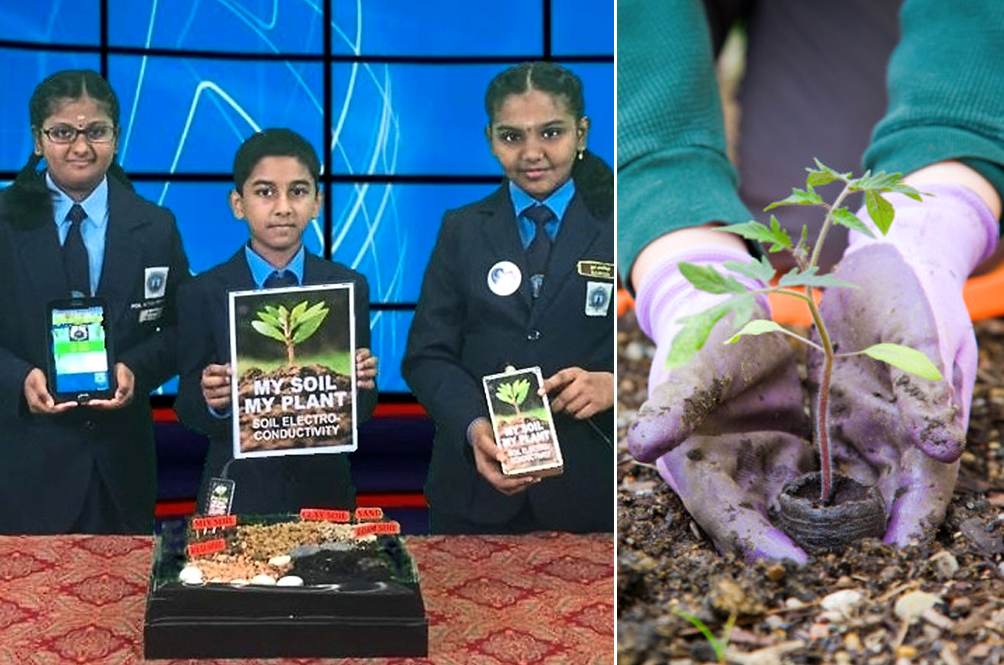 Three M'sian Students Bag Yet Another International Award With Soil Conductivity Electrical Tester