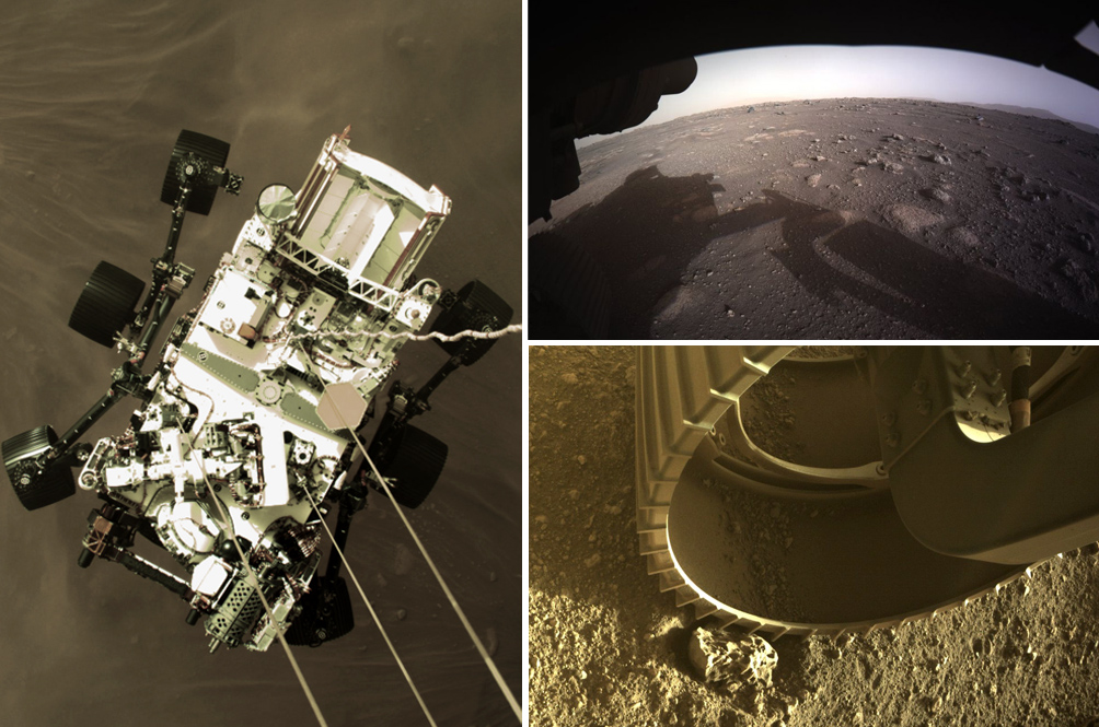 [PHOTOS] The Perseverance Rover Has Been Sending Back Pictures Of Mars And They Are Amazing!