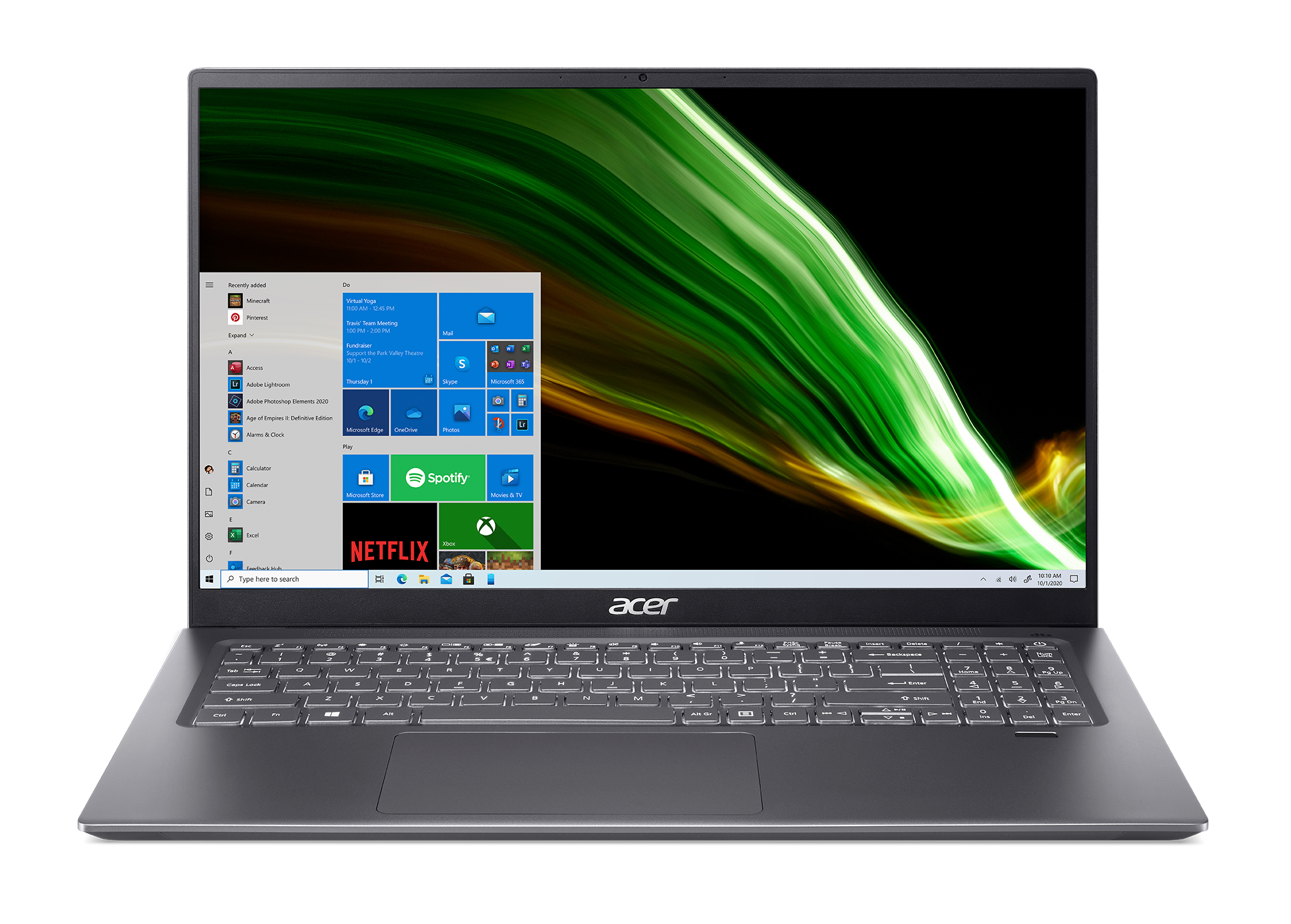 The Acer Swift 3.