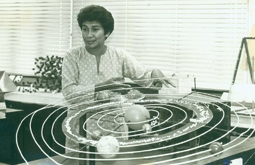 Malaysia's first astrophysicist.