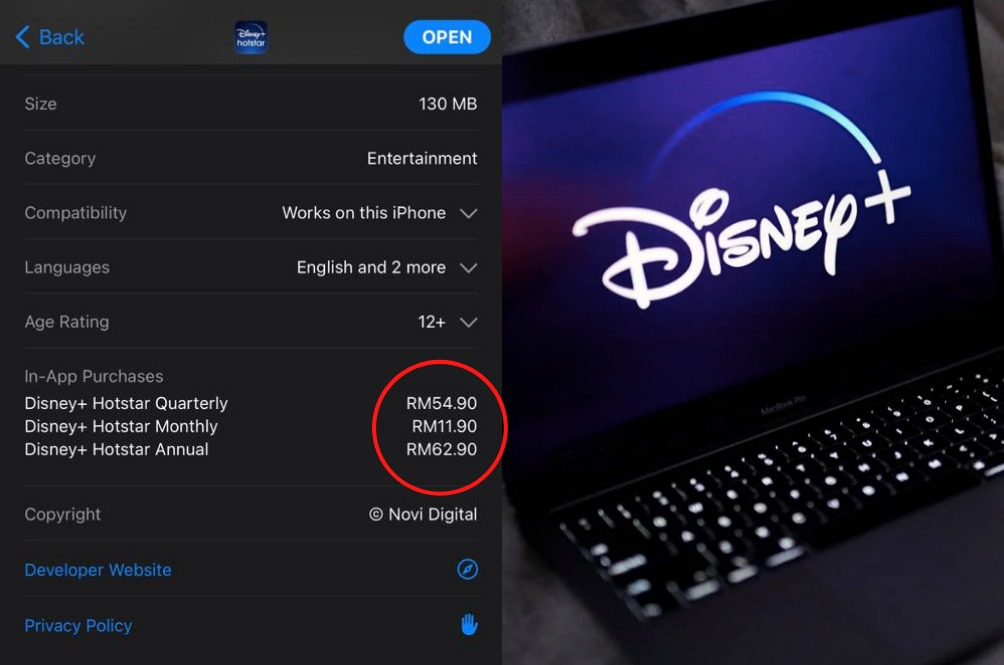 Here's Why There's A Cheaper RM63 Annual Disney+Hotstar Subscription That's Not Available In M'sia