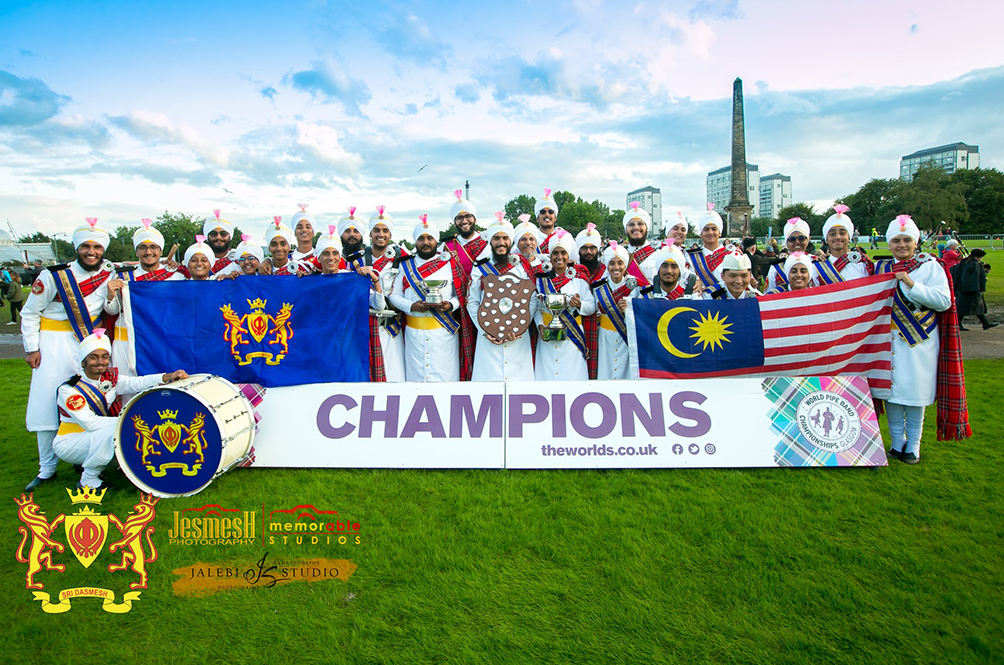 Not Just A Pipe Dream: Malaysian Sikh Pipe Band Are World Champions