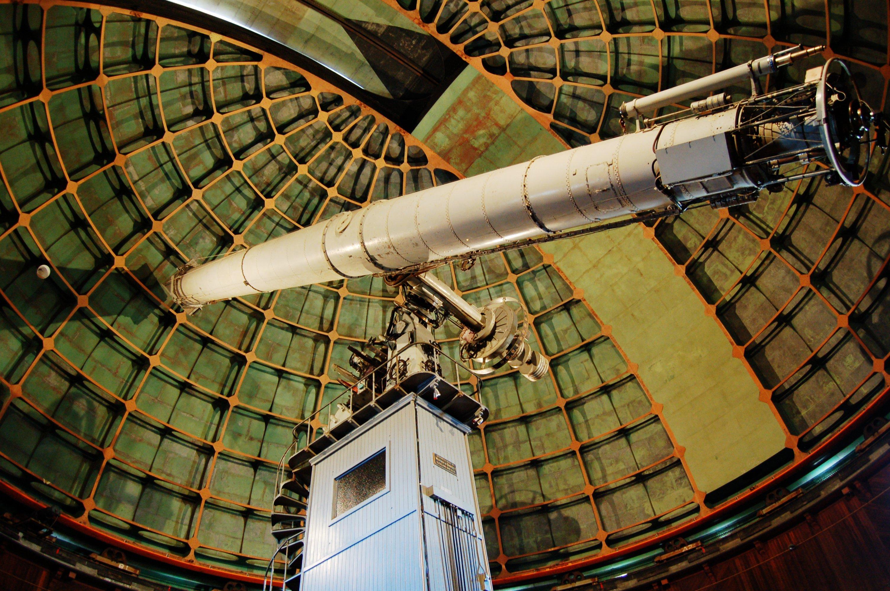 Not your everyday telescope.