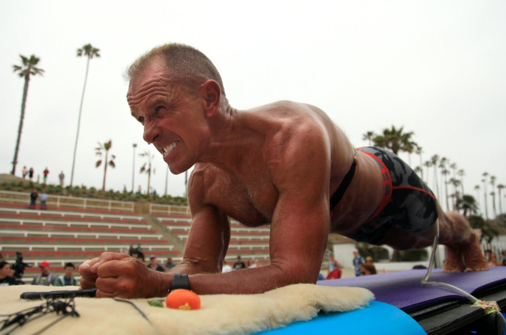 62-Year-Old Man Breaks World Record By Planking Longer Than We Sleep At Night