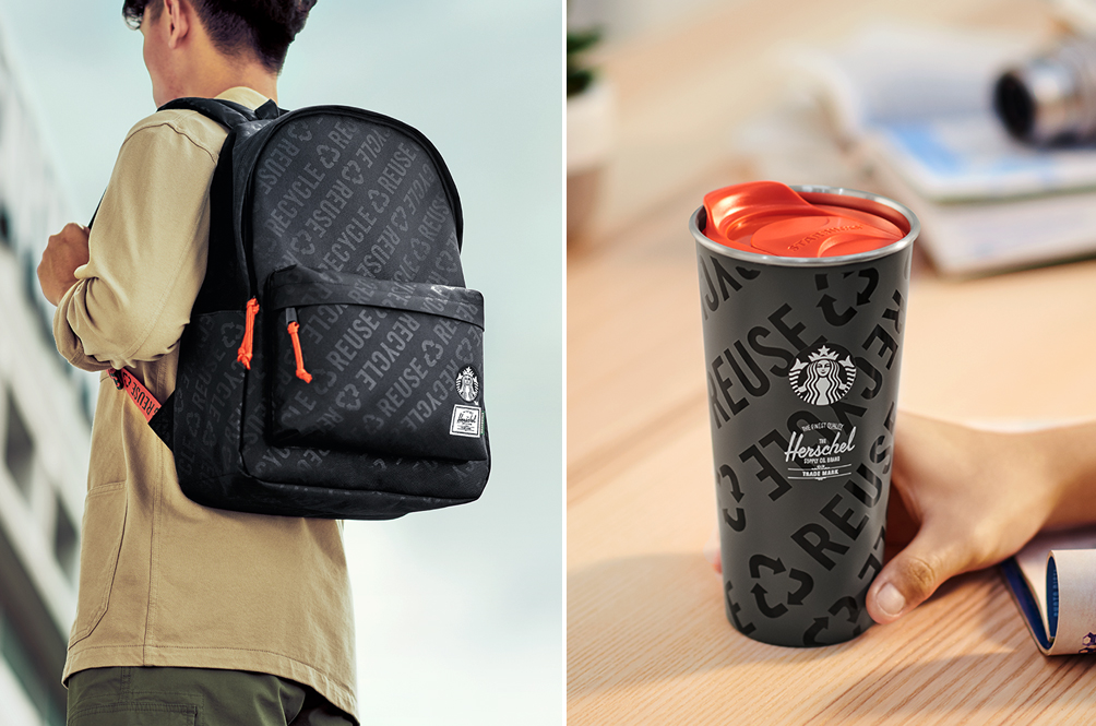 We Are Absolutely In Love With The Starbucks X Herschel Supply Merchandise Line