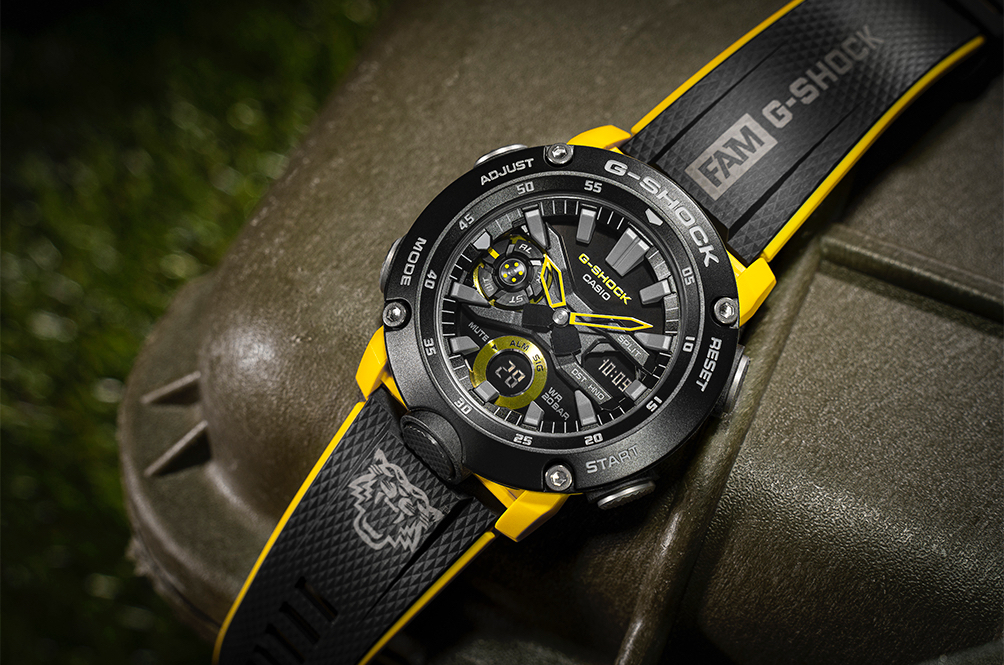 G-Shock's Special Harimau Malaya Collaboration Is A Thing Of Beauty, And We So Want One!