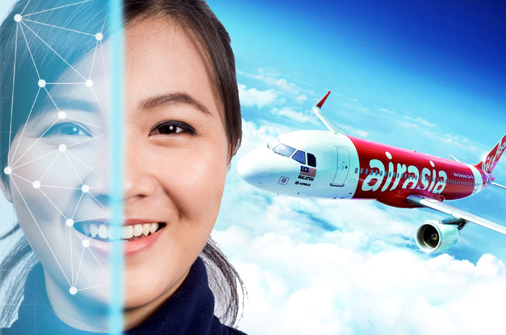 You Can Now Check In And Board AirAsia Flights Using Just Your Pretty Face