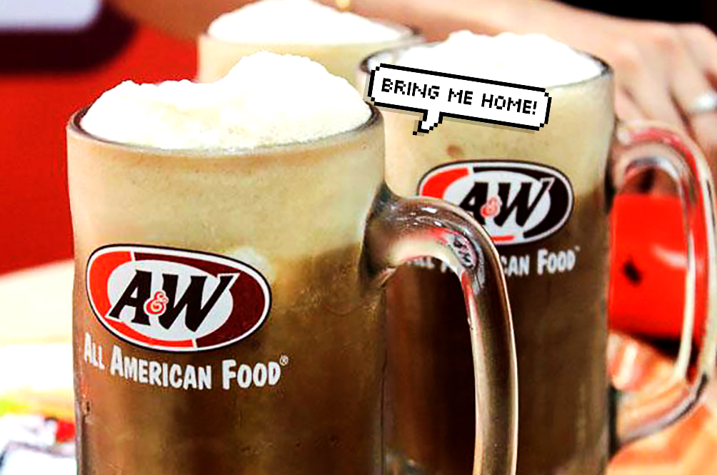 Always Wanted To Bring Home That Cool A&W Root Beer Mug? Now You Can!