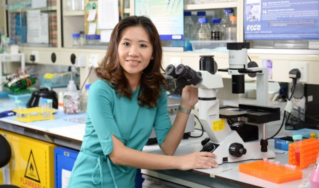 Dr Chan is a super high-achiever in her field.