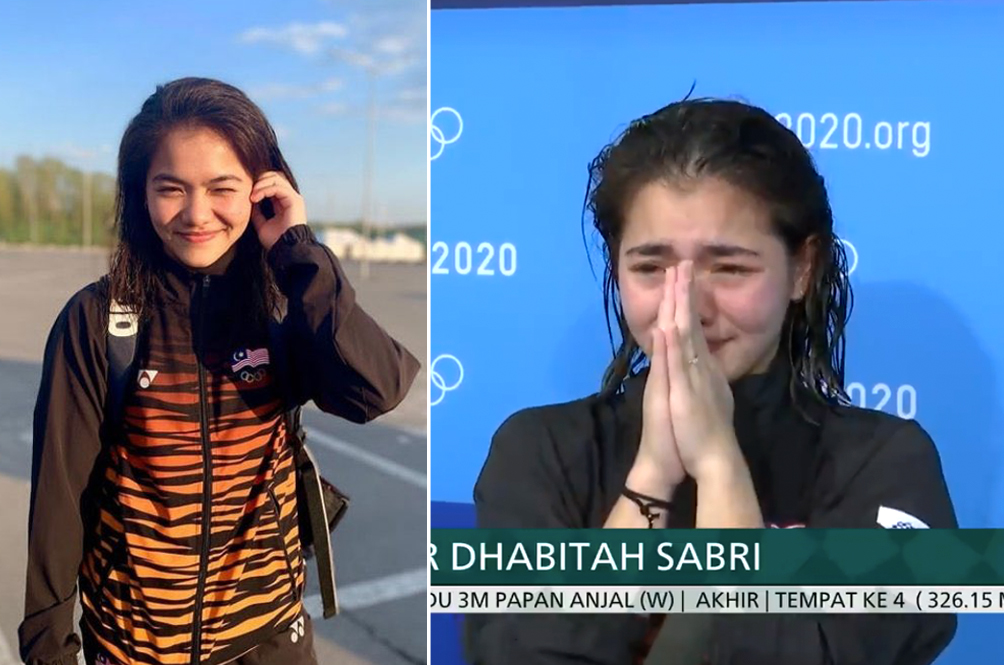 M'sian Diver Nur Dhabitah May Have Missed Out On A Medal, But She Won The People's Hearts