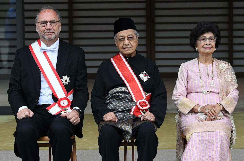 Level Up: Prime Minister Dr M Honoured With Japan's Highest Award