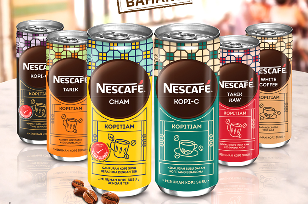 Nescafé Brings Back Kopitiam Memories With Their Brand New Packaging And Flavours
