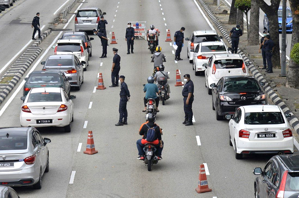 PDRM To Intensify Enforcement, Increase Roadblocks And Set Up Monitoring Teams In MCO States