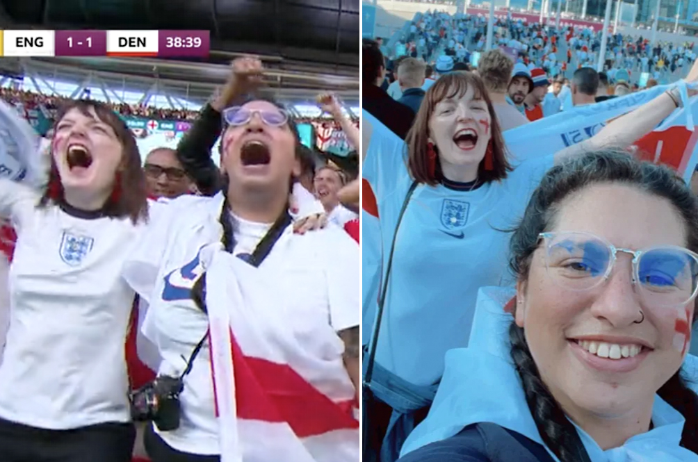 Woman Who Took MC To Watch Euro 2020 Match At Wembley Stadium Fired After Boss Spotted Her On TV