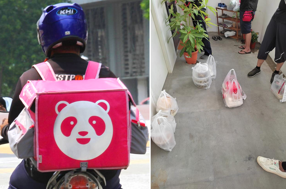 S'porean Ah Longs Are Harassing Their Victims By Ordering A Lot Of Food And Delivering It To Them