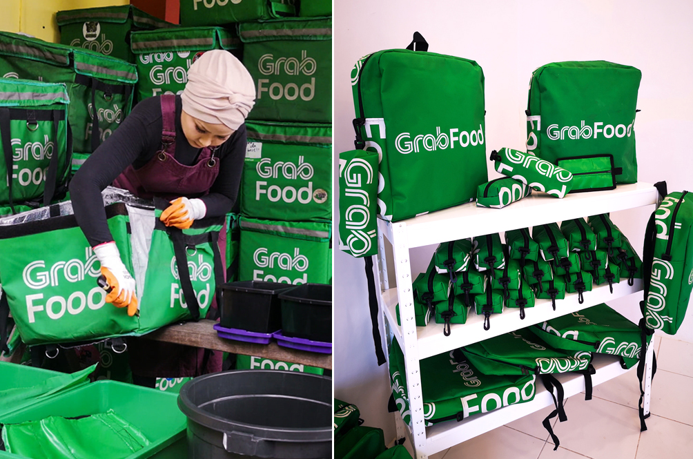 Local Fashion Brand Turns Used GrabFood Carrier Bags Into School Bags For Underprivileged Children