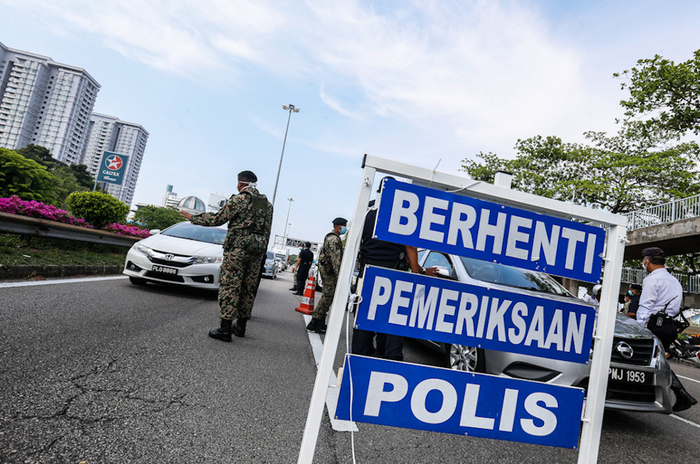 These Are Some Of The Reasons Given By M'sians When Stopped At A Police Roadblock During The MCO