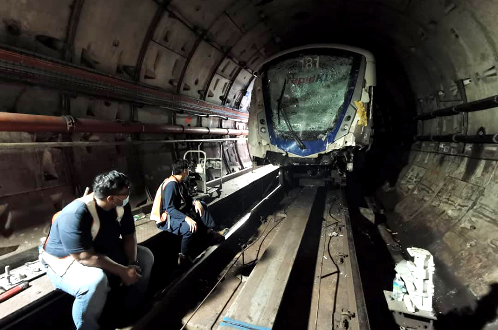 Transport Minister Reveals The Main Cause Behind The LRT Train Crash
