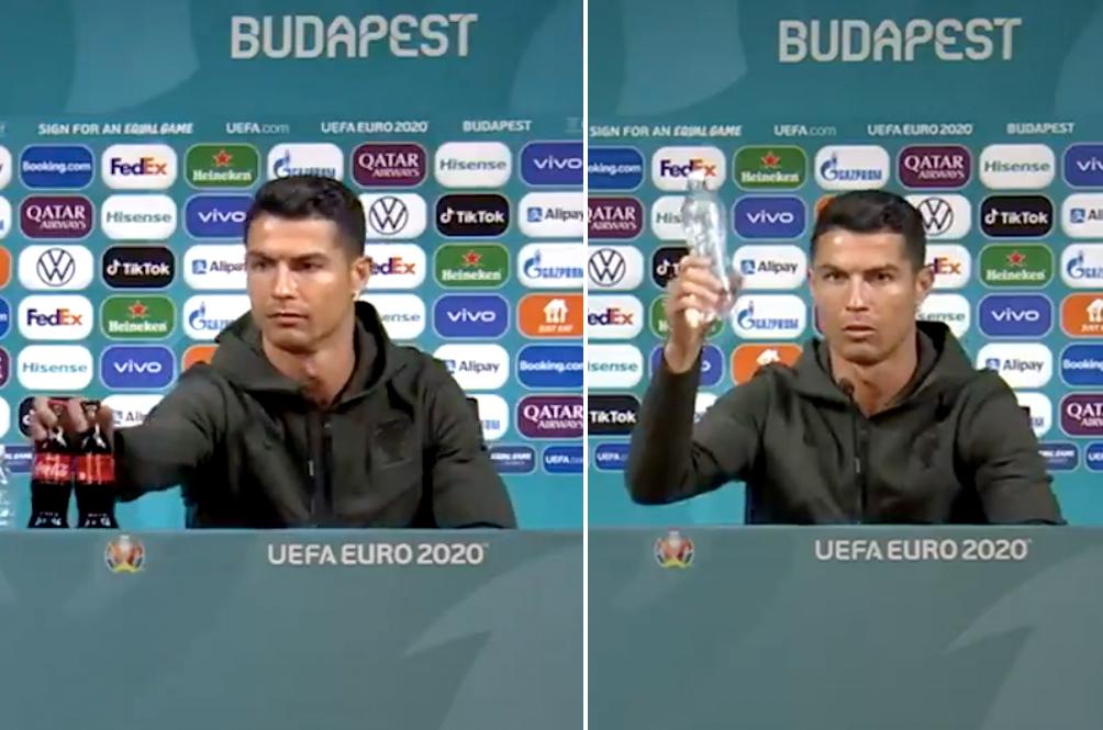 Coca-Cola Lost Billions Of Dollars In Market Value Because Of Footballer Cristiano Ronaldo