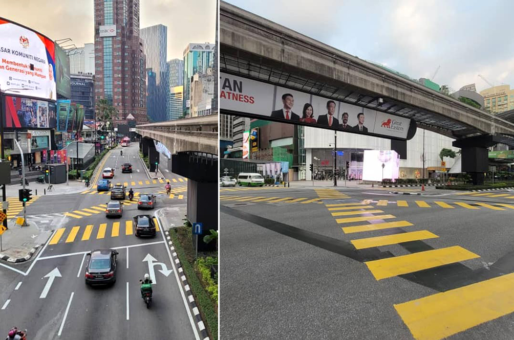 [PHOTOS] Malaysia Now Has Its Very Own 'Shibuya Crossing' In The Middle Of KL