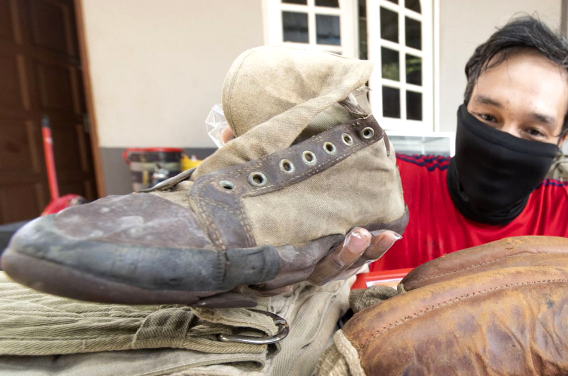 Malaysian Man Sells 104-Year-Old Converse Shoes For RM40,800