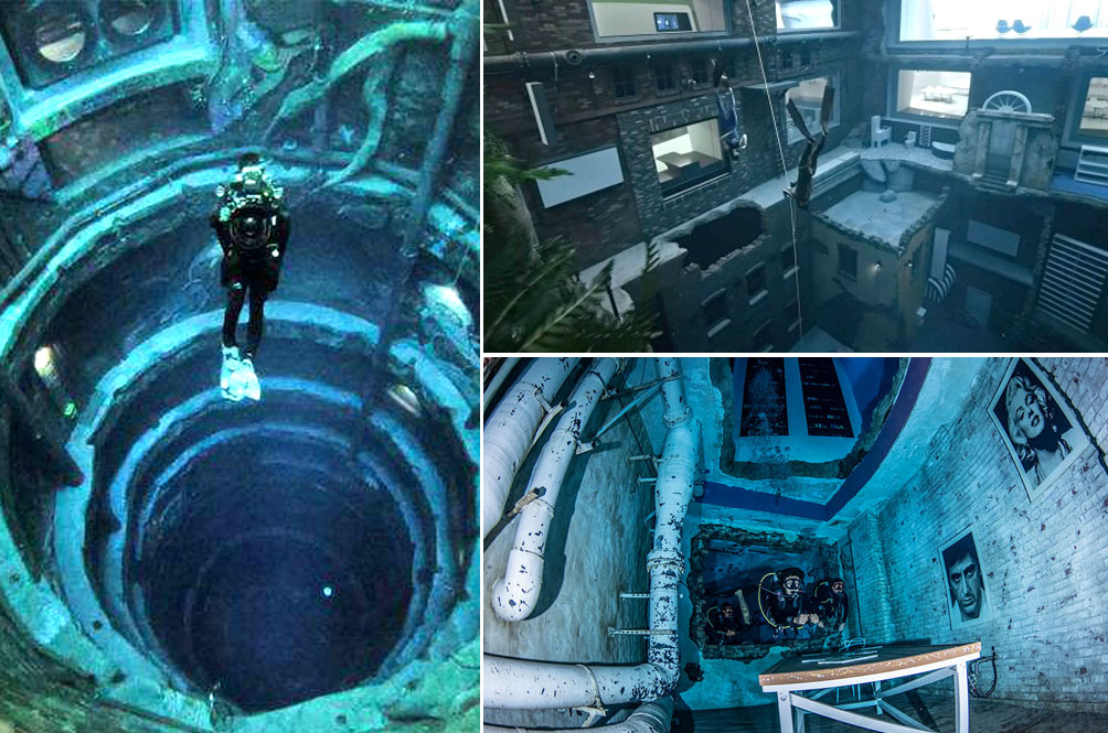[PHOTOS] Dubai Unveils The World's Deepest Swimming Pool Which Features A Sunken City