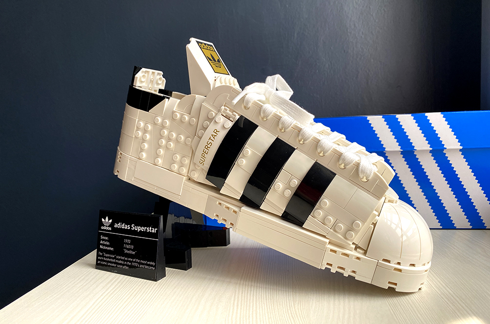[REVIEW] Four Things We Love About The LEGO adidas Originals Superstar Set