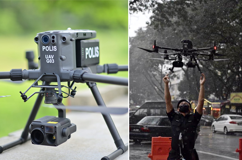 PDRM Explains Why Procuring 16 High-Powered Drones Will Cost Them RM48 Million