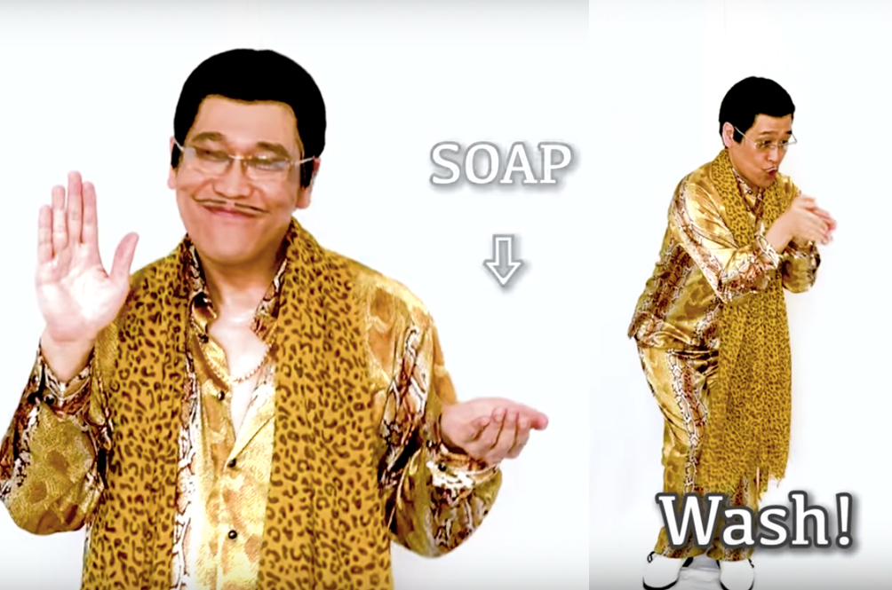 The Pen Pineapple Apple Pen Guy Is Back, This Time With An Equally Catchy COVID-19 Song