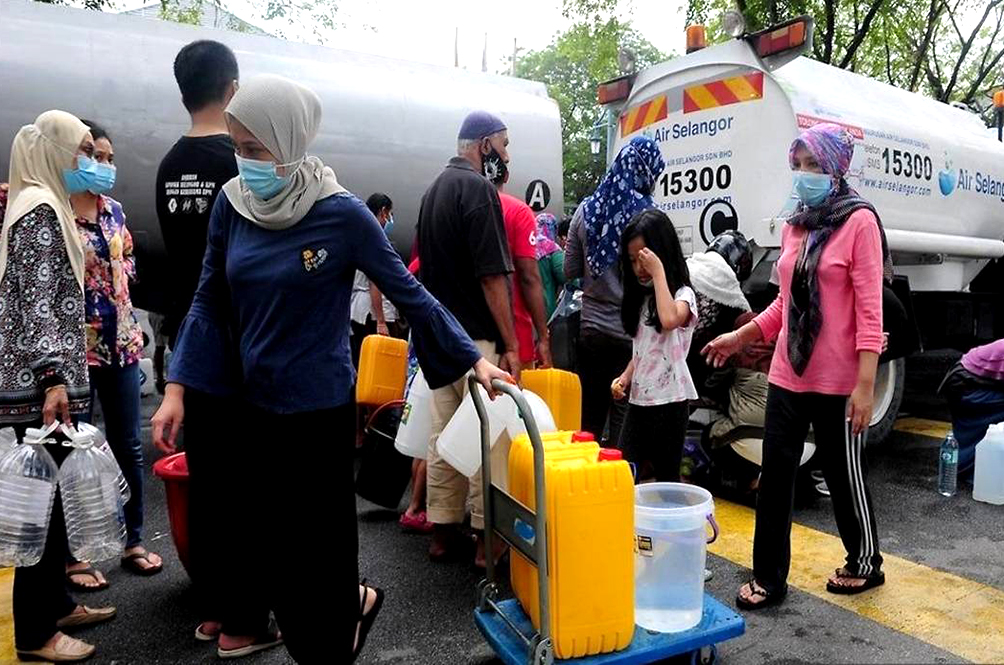 Selangor Government Considering Giving Rebates To Those Affected By The Water Cuts