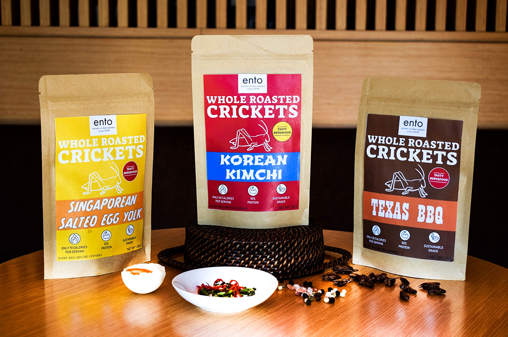 A Malaysian Company Is Selling Roasted Cricket Snacks And You Can Try It Too!