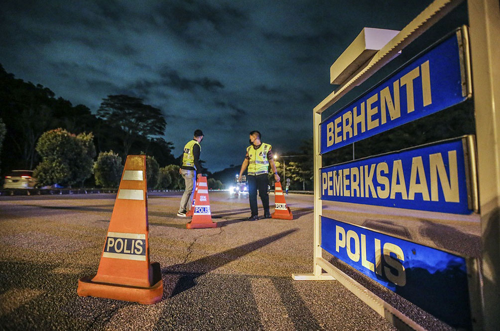 You Shall Not Pass: Selangor Police To Set Up 'Mobile' Roadblocks