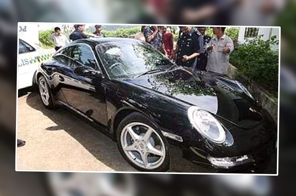 Malaysia's Greatest Car Theft Story Involves One Guy Stealing The Same Porsche Twice In One Day