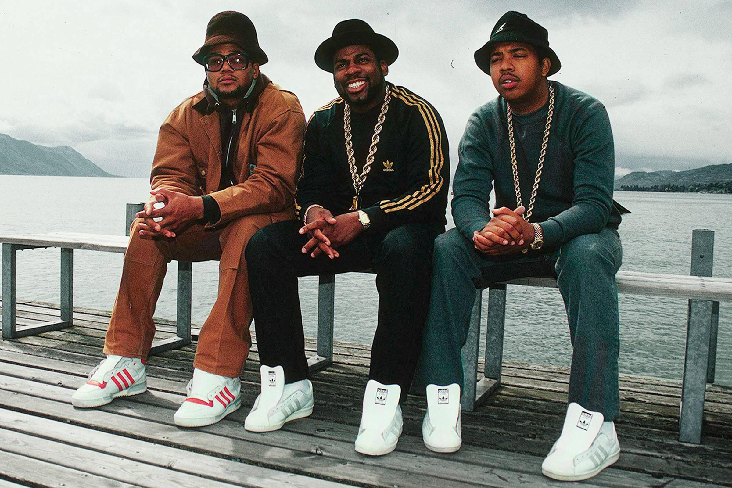 Hip-hop group Run-D.M.C. popularised the Superstar