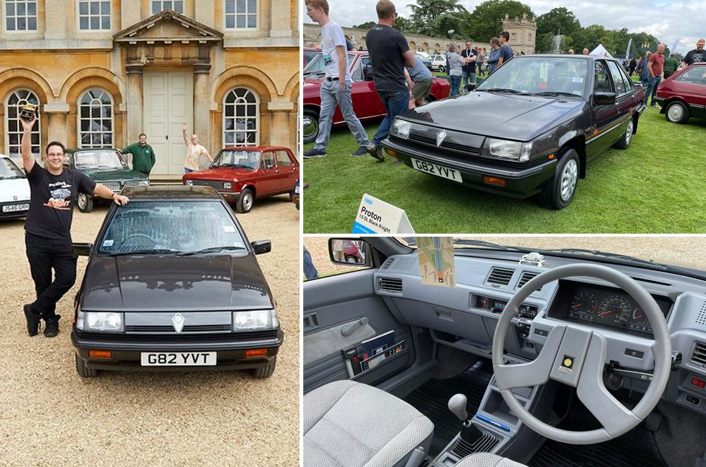 Saga Power! A Mint 1989 Proton Saga Has Just Won A Classic Car Event In The UK