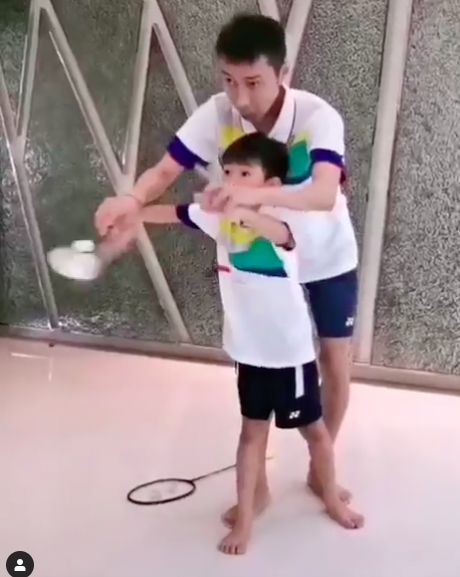Future world number one in training?