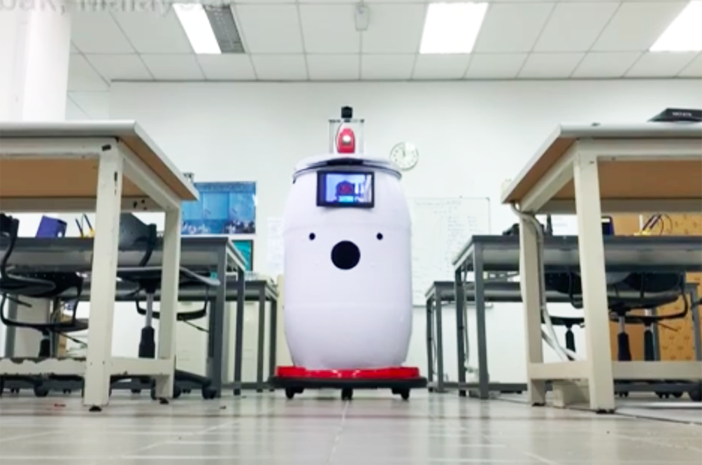 Soon, You'll See This Robot Named 'Medibot' Doing Rounds In COVID-19 Hospital Wards