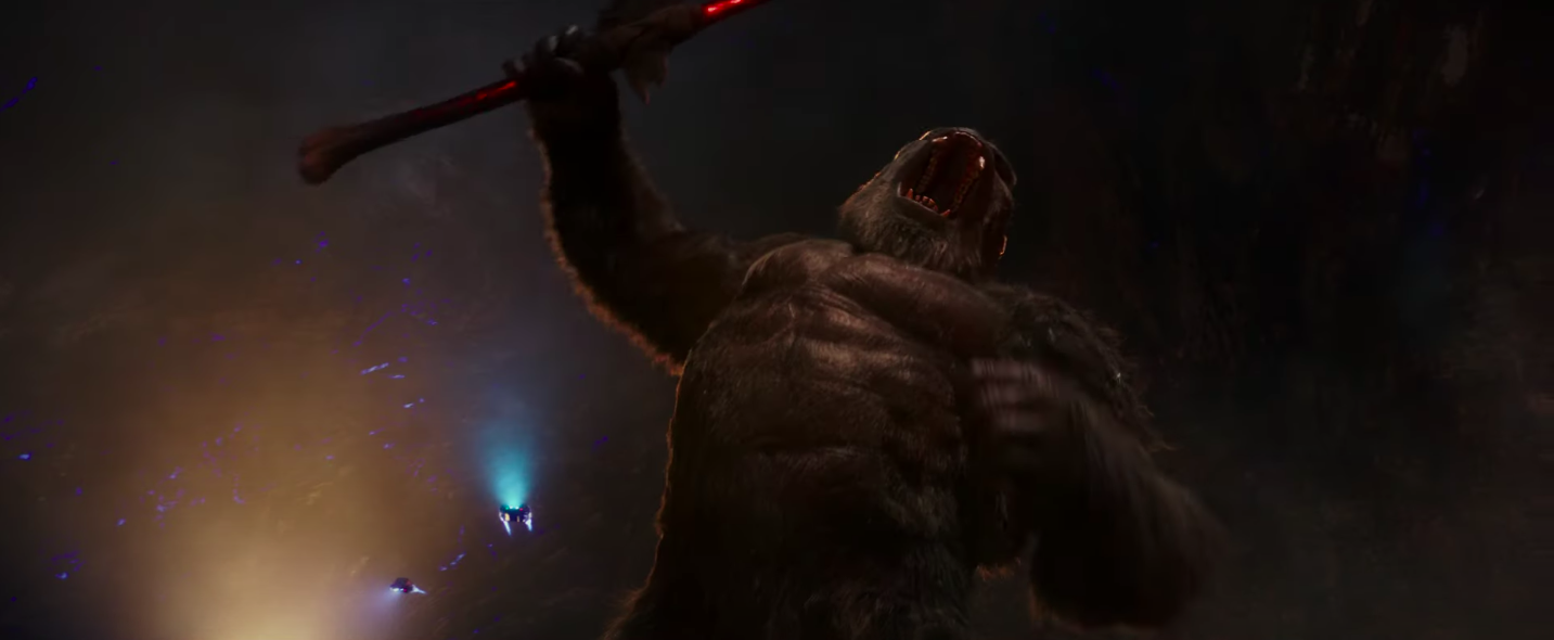 Only Kong is worthy.