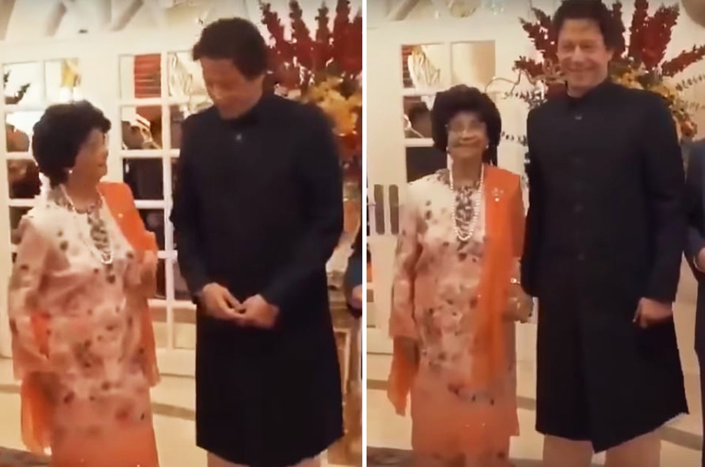 Tun Dr Siti Hasmah Fangirling Over Pakistan PM Is The Cutest Thing Ever!
